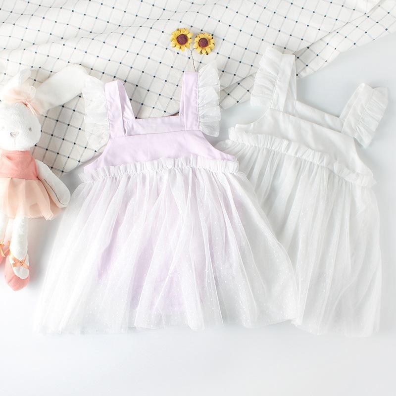 1ed9db771cbe 2019 Baby Girls Dress Summer Kids Princess Dress Newborn Little ...