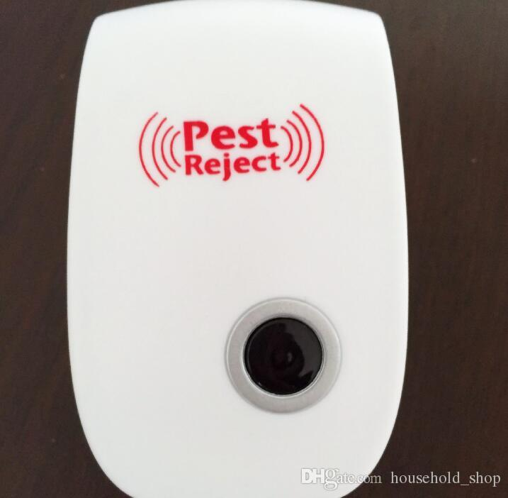 Electronic Pest Repeller Ultrasonic Rejector Mouse Mosquito Rat Mouse Repellent Anti Mosquito Repeller killer Rode UK EU US PLUG Free DHL