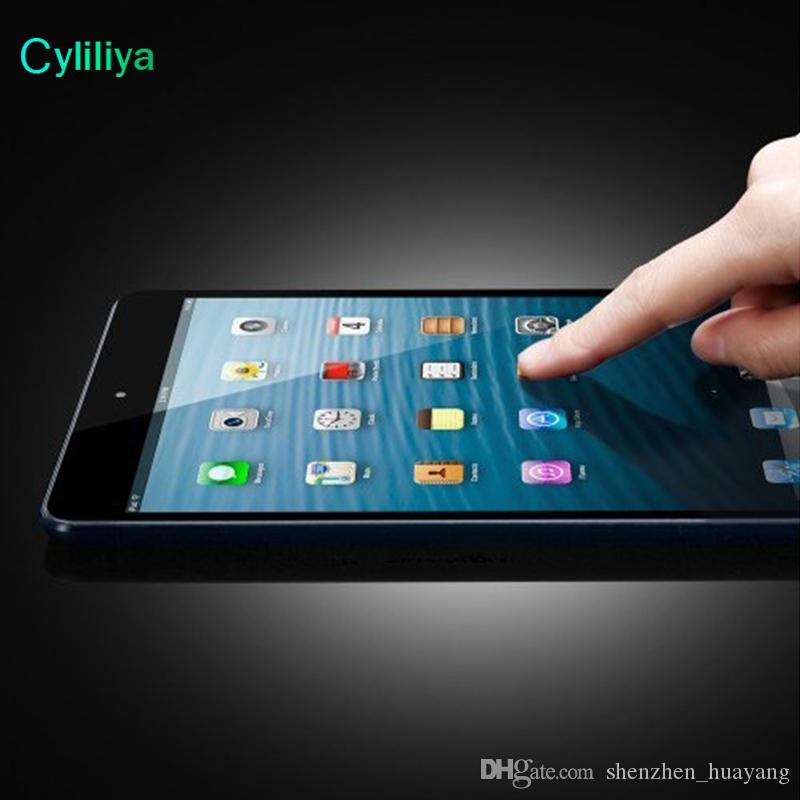 9H Premium Tempered Glass Screen Protector Film For New iPad 2017 2 3 4 5 6 Air Air2 Mini MINI4 Pro 9.7 10.5 NO Retail Package