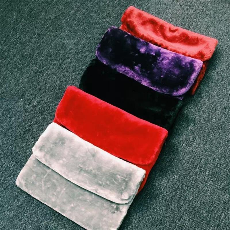 New Arrival Fashion Faux Fur Clutch Bag Casual Handbag Fur Velour Bags Sac  A Mains Femme Hot 2018 Winter Chain Clutch Bag LYDIAN Red Clutch Fashion  Handbags ... 582b160b32fa8