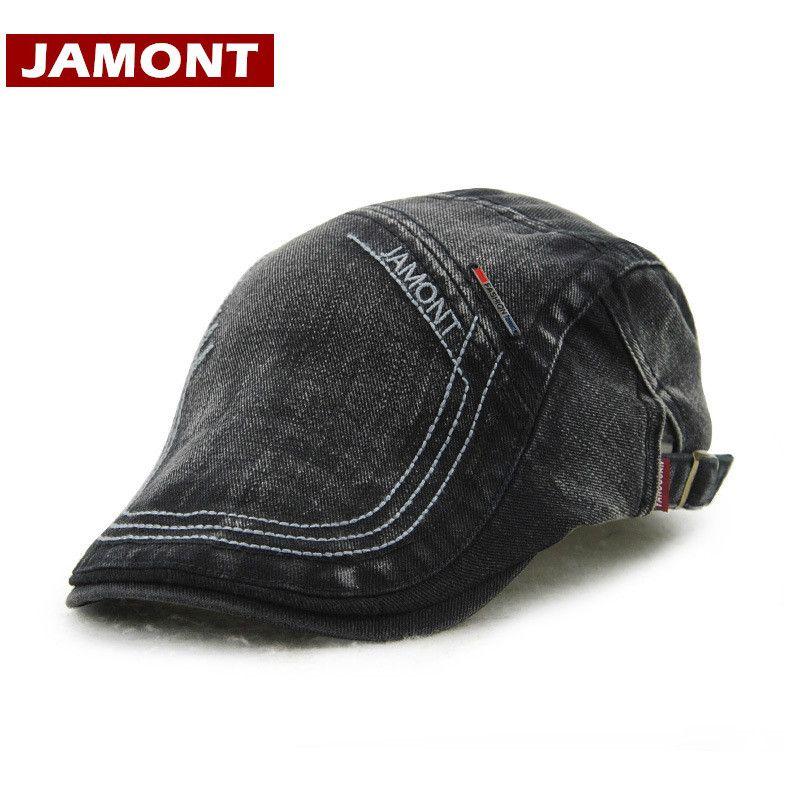 12cfa0e4c3c48 2019 JAMONT Casual Berets Hat Men Visors Cap Cotton Artist Beret Letter  Flat Hats Casquette Men Caps Classic Style Casquette From Juaner