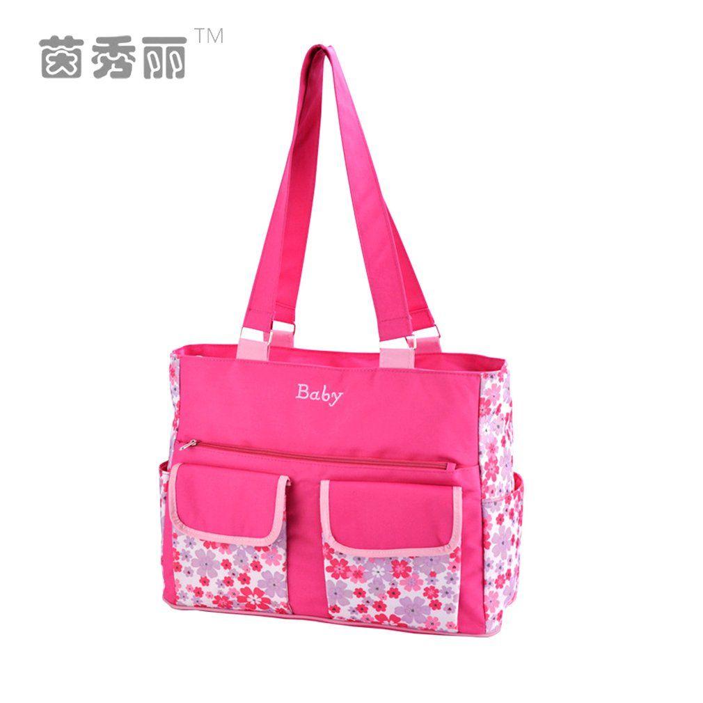 3cc319d3cd716 Insular New Brand Diaper Bag Mummy Bag Nappy Multifunctional Fashion ...
