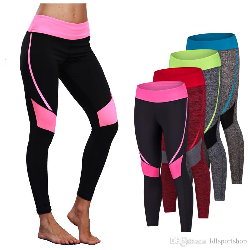 97d8c20437abe 2019 New Women Sexy Yoga Pants Dry Fit Sport Pants Fitness Gym Pants  Workout Running Tight Sport Elastic Leggings Female Trousers From  Ldlsportshop, ...