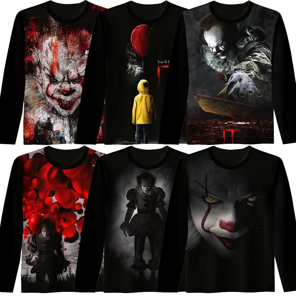 Winter Jacket Men 2018 Movie It Pennywise Clown Funny Hoodie Thick Warm Hooded Zip Sweatshirt Women Brand Sportswear Tracksuit In Many Styles Hoodies & Sweatshirts