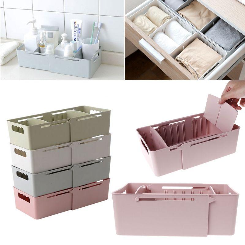 2018 Adjustable Cabinet Drawer Divider Underwear Sock Organizer Makeup  Storage Box From Homegarden, $34.22 | Dhgate.Com