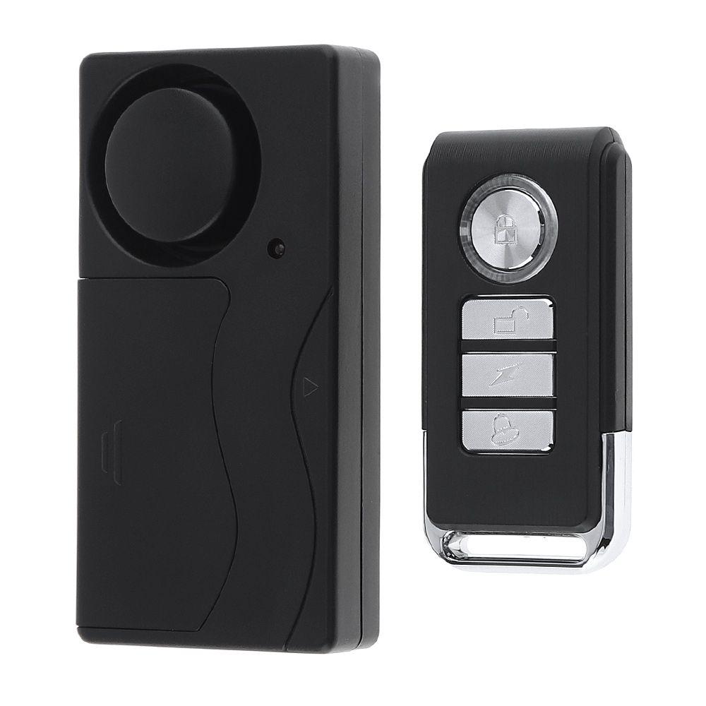 433Hz Wireless Remote Control Vibration Alarm Sensor Home Door Window Entry Burglar Security Alarm Safety Guardian Protector System SAM_40B