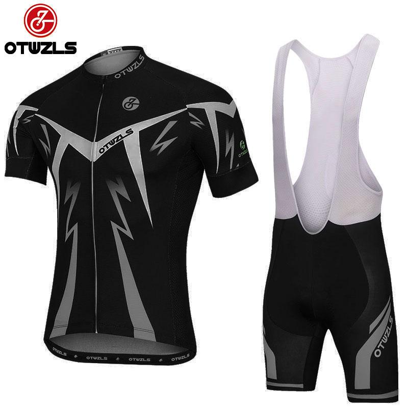 2018 Men Cycling Jersey Set Cycling Kit Maillot Ropa Ciclismo Hombre ... 629d2fd66