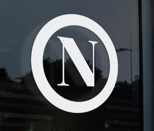 2019 Car Styling For Napoli Vinyl Decal Sticker Car Window