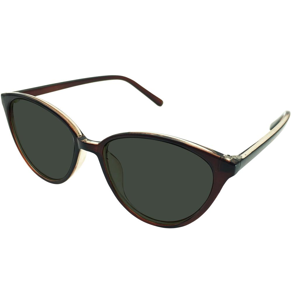313dfe497d 2019 Ladies Tinted Green Polarized Cateye Distance Sunglasses Glasses  Myopia Shortsighted Womens Cat Eye Prescription Brown Frames From Geworth