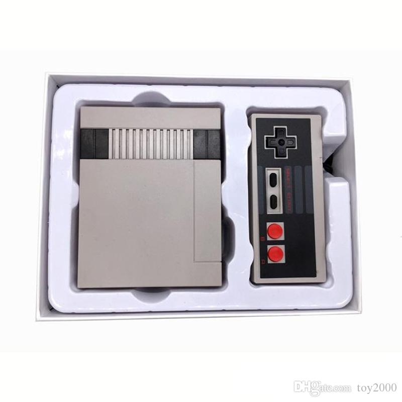 New Arrival Mini TV 620 500 Game Console Video Handheld for NES games consoles with retail boxs hot sale dhl