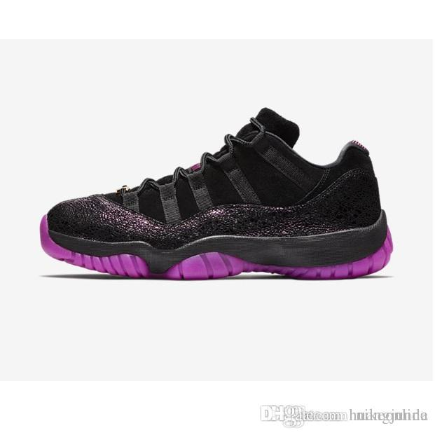 06a4bf9f4700 Cheap Cheap New Womens Jumpman 11 XI Low Basketball Shoes 11s Iridecent  Rose Gold Concord Easter Rook to Queen Heiress J11 Sneakers Kids with Box
