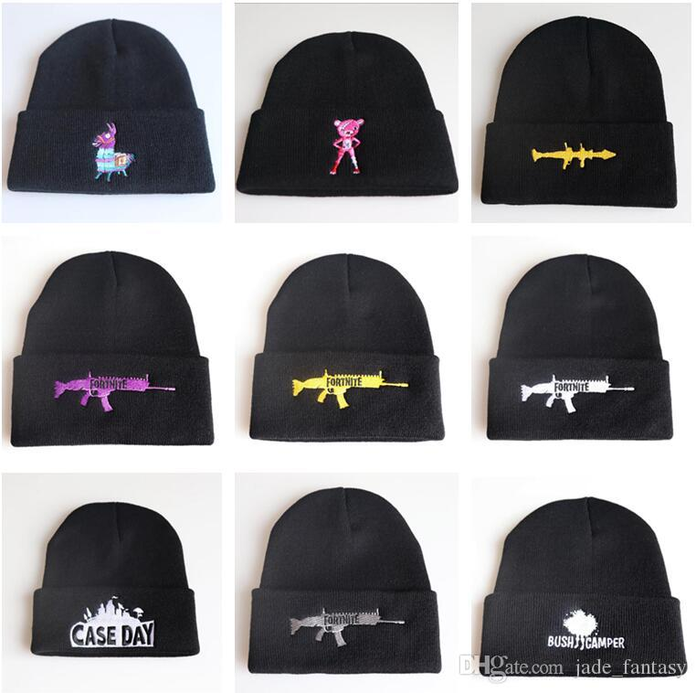 10 Styles Fortnite Beanies Fortnite Hats Fortnite Llama Knit Hat Hip Hop  Embroidery Knitted Caps Teenager Winter Warm Skull Beanies 173 UK 2019 From  ... 820acfc5b17