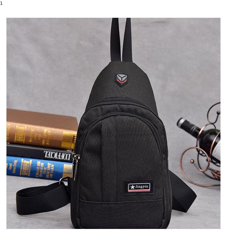 038ceecffa77 Men Chest Bag Pack Nylon Waterproof Messenger Bag Luxury Designer Single  Shoulder Strap Pack For Male Fashion Cross Body Bag Luxury Handbags Red  Handbags ...
