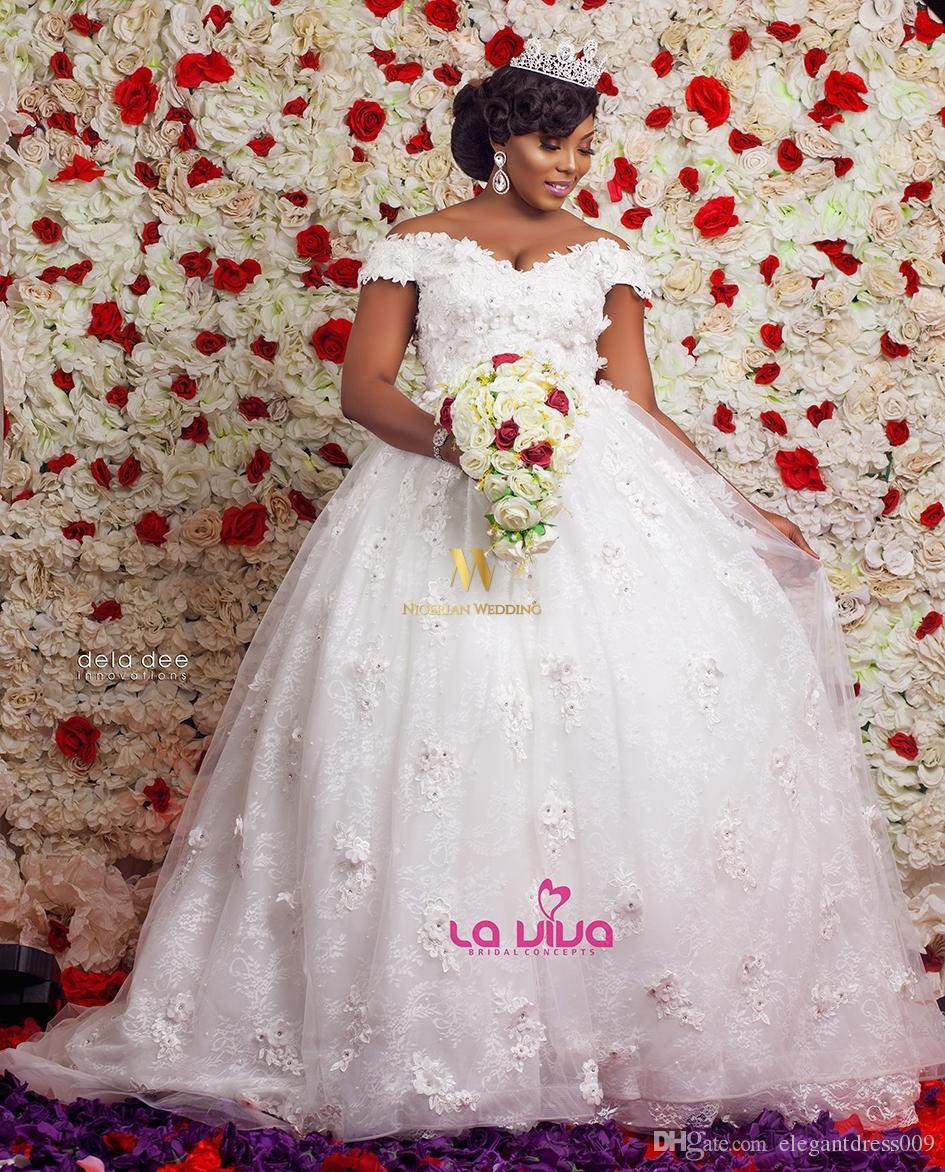 Acheter 2018 Robes De Mariage Robe Africaine Nigerienne Nigerienne A