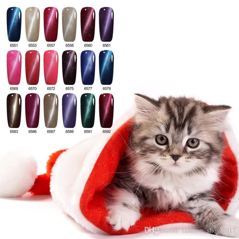 Long-lasting Magnetic Cheap Gel Professional 3D Cat Eyes Gel Lacquer Soak Off UV Cat Eyes Colorful Gel Nail Polish