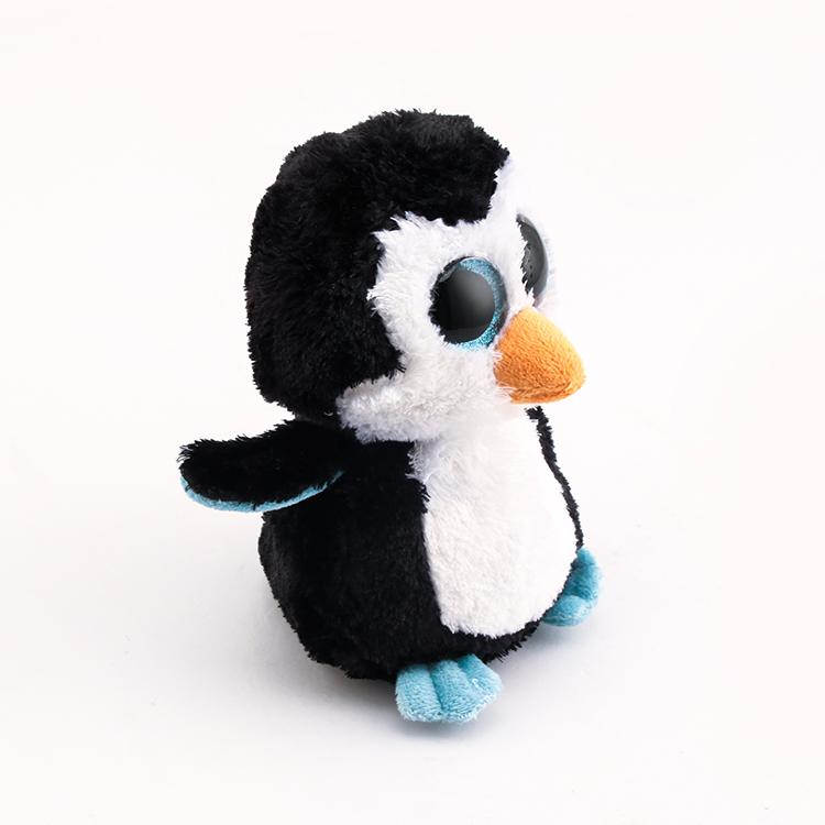 2019 Beanie Boo Ty Beanie Boos Big Eyes Plush Toy Doll 10 15cm Black  Penguin TY Baby For Kids Birthday Gifts From Toy 888 f59f47f197bb