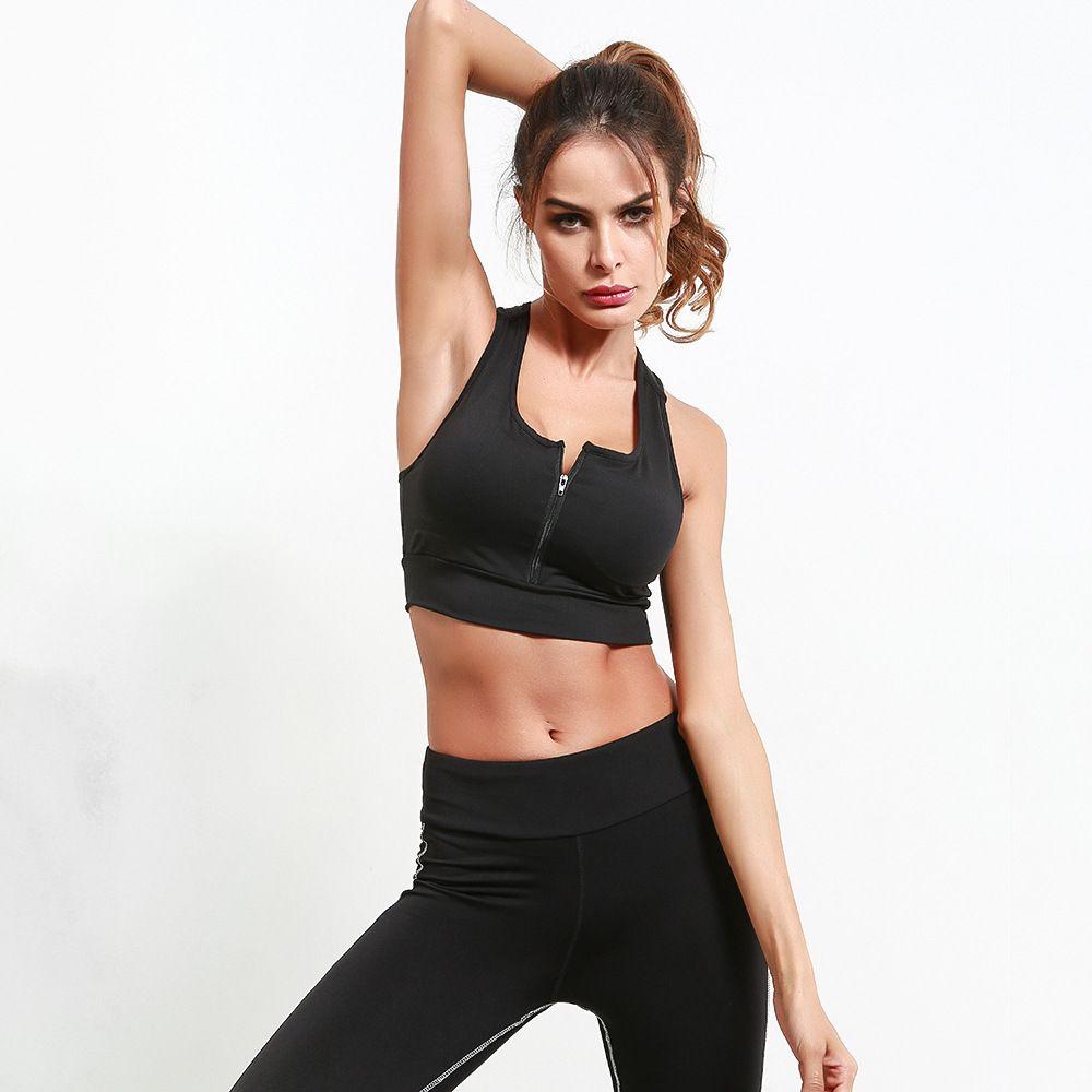 d0d04dfa9324 Women Sexy Black Tank Top Knitted Cropped Top Shirt Fashion 2018 ...