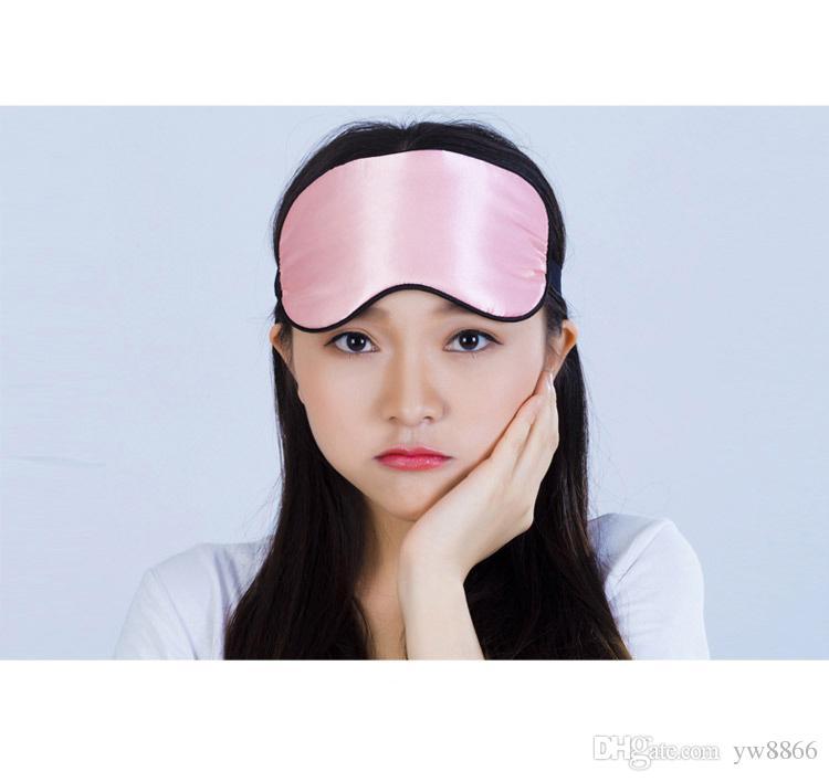 Augenmaske Schatten Nickerchen Abdeckung Augenbinde Reise Rest Professionelle Hautpflege Pflege Schlaf Vielfalt Farboptionen