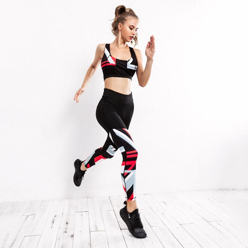 The Best Open Back Mesh Stitching Sports Jumpsuit Fitness Outdoor Exercising Running Yoga Gym Sport 2018 European American Hot Home