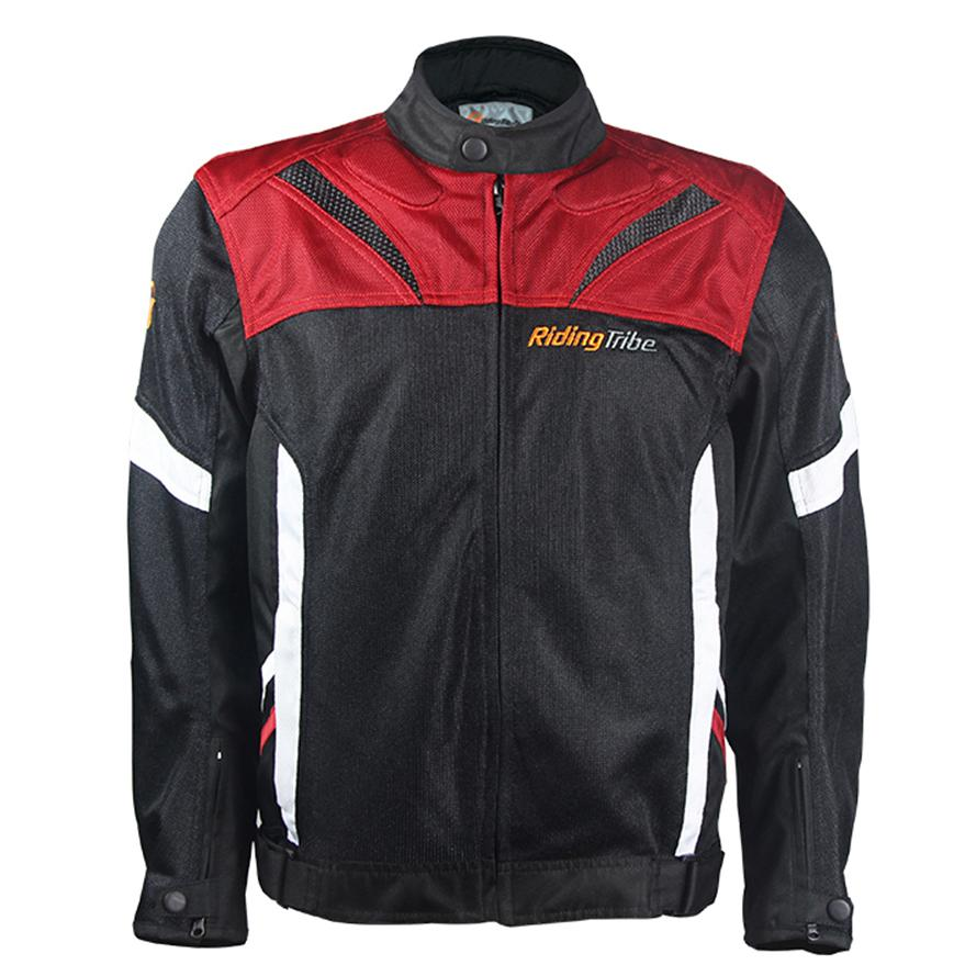 74a4ff0dfc7e0 Compre Chaqueta Motocross Summer Motorcycle Jacket Transpirable Luz Tribe  Moto Ropa Protectora Con Protectores M 3XL A  80.67 Del Atuomoto