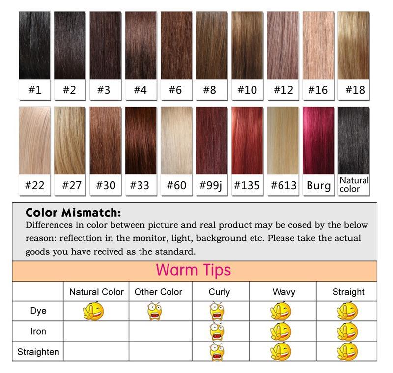 150 Densidad Honey Blonde color # 613 Grueso sin cola pelucas de pelo humano del cordón lleno de Brasil Cuerpo ondulada del frente del cordón