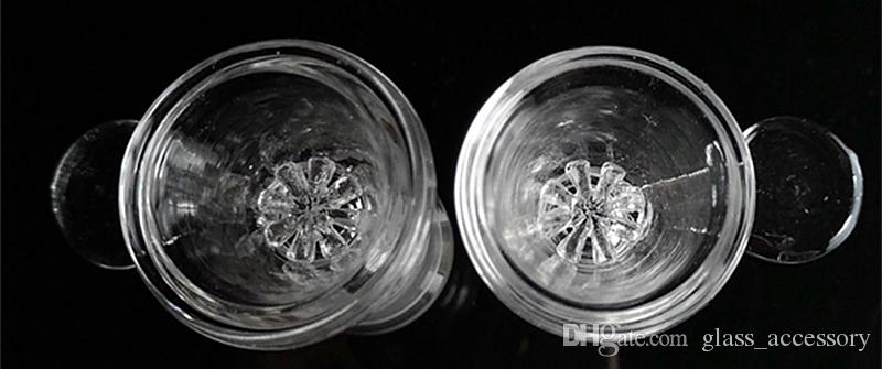 Thick Pyrex Glass Bowl with Screw Honeycomb Screen 14mm 18mm Female Herb Tobacco Glass Bowls for Glass Water Pipes Bong