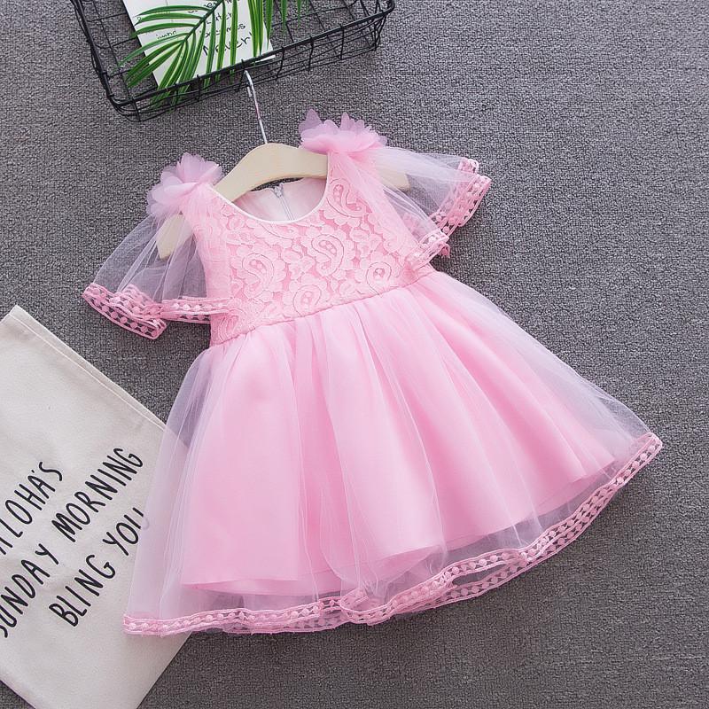 f484fc5fe09 Acheter Bibicola Bébé Filles Robe Robes D anniversaire Toddle Vêtements  D été Fleurs Princesse Robes De Soirée Ianfant Tutu Robe Vêtements De  35.7  Du ...
