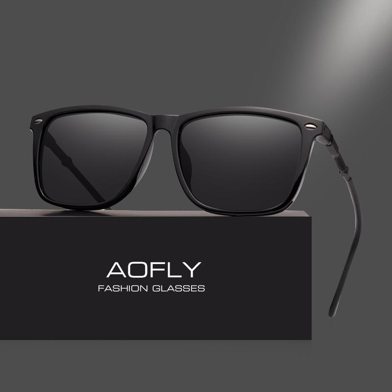 Masculinos Vintage Sol Lente De Clásico Espejo Aofly Uv400 Gafas Marca Tonos Af8071 Diseño Polarizadas Hombres j4qcALS35R