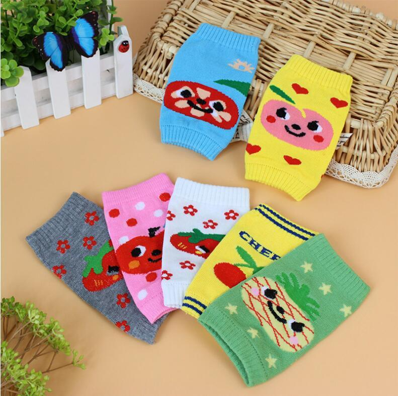 Fashion Color Toddler Baby Bath Knee Pad Soft Breathable Kneepads ...