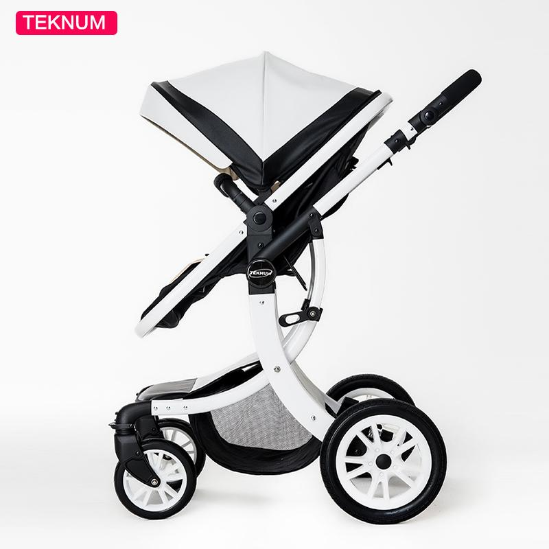 2 In 1 High Landscape baby Stroller For newborn baby pram Six Free Gift HongKong free delivery