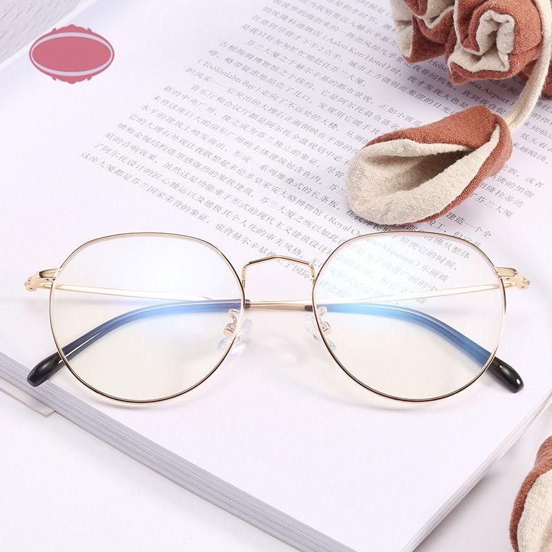 Compre Vintage Rodada Óculos De Armação Para As Mulheres Moda Miopia Armações  De Óculos Homens Coreano Óculos Transparentes Ópticos Limpar Gafas 342 De  ... cf5bfe2825