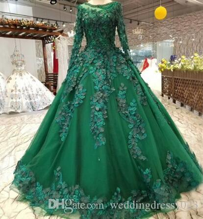 compre vestidos de novia de color verde oscuro vestidos de novia
