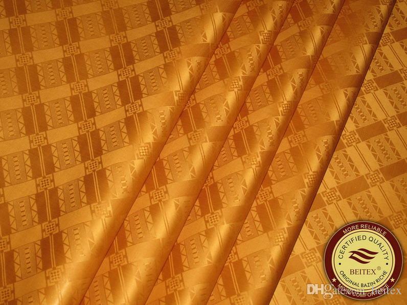 Germania Qualità Jacquard Damasco Shadda Bazin Riche Guinea Brocade Abbigliamento africano Tessuto di cotone di alta qualità Simile a Getzner