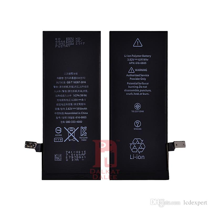 Battery for apple iphone 4s 5g 5s 5c 6g 6s 6plus 7g 7 8 plus X Batteries Replacement Strong Flex 0 Cycle