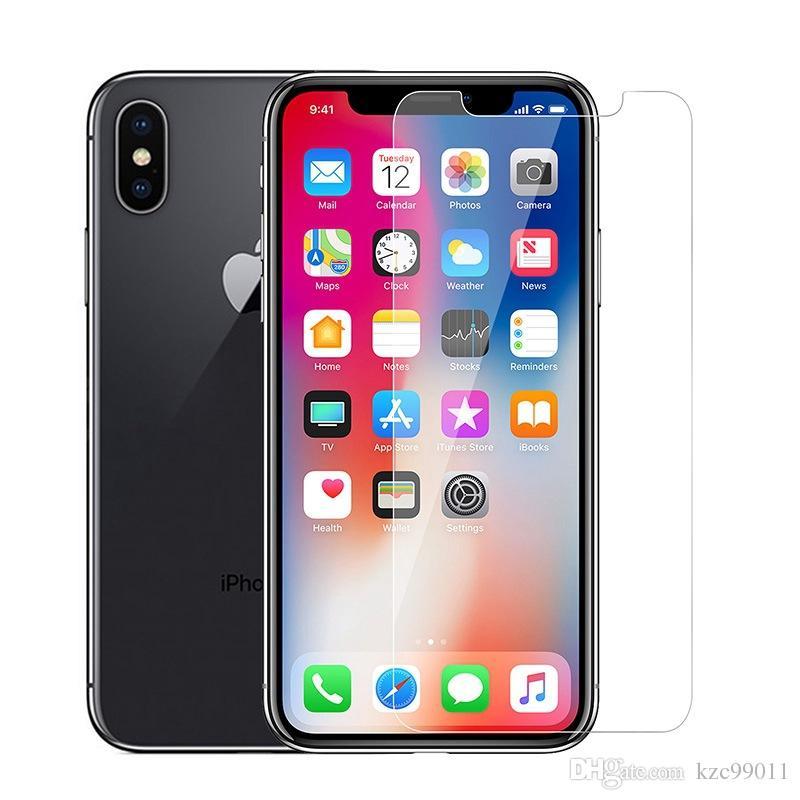 e2b82f295a5 Protección De Pantalla Para IPhone XS Max XR Cristal Templado IPhone X 8 7  6 6S Plus 5 5S IPhoneXS IPhoneX IPhone8 IPhone7 IPhoneXR Protector De  Pantalla ...