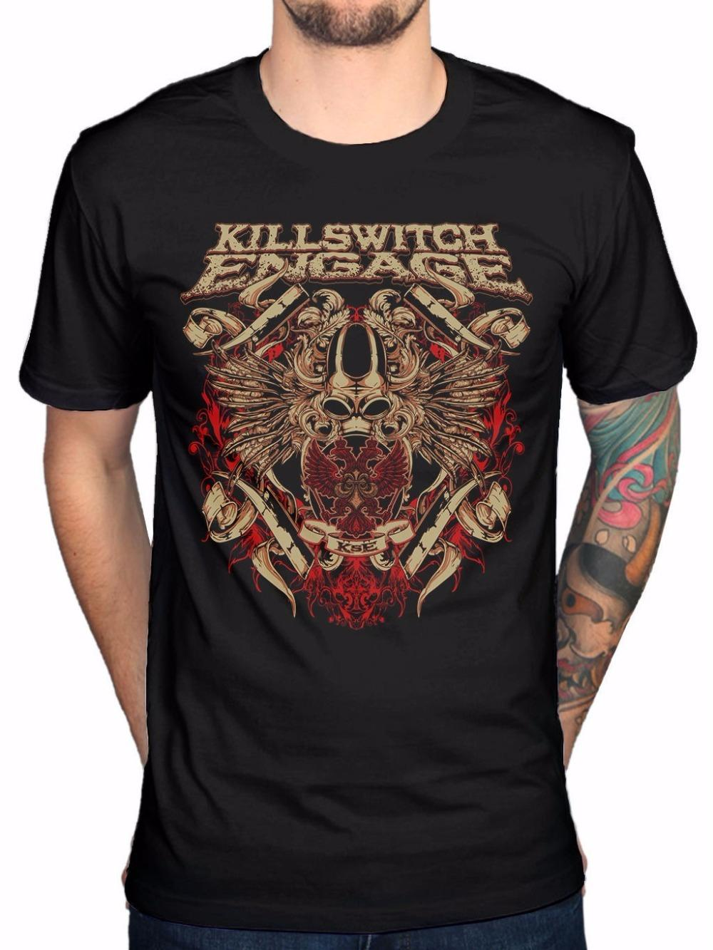 5559cacec Bulk T Shirts Crew Neck Short Sleeve Zomer Mens Killswitch Engage Biowar  Fashion Graphic Cotton Adult Men T Shirt T Shirts T Shirt 1 1 T Shirt From  ...