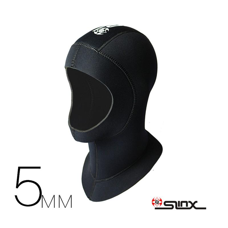 2019 Slinx 3mm 5mm Neoprene Men Women Scuba Diving Snorkeling Neck Hat Full Face  Mask Waterproof Warm Spearfishing Swimming Hood Cap From Simmer e2c6ab76d7