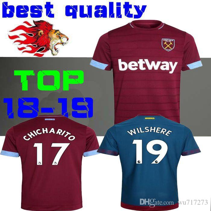 583d32093b7 CHICHARITO ARNAUTOVIC 18 19 Soccer Jerseys 2018 2019 Antonio ...