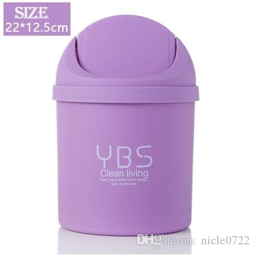 2018 Cute Mini Small Waste Bin Desktop Garbage Basket Table Home Office  Trash Can From Nicle0722, $5.53 | Dhgate.Com