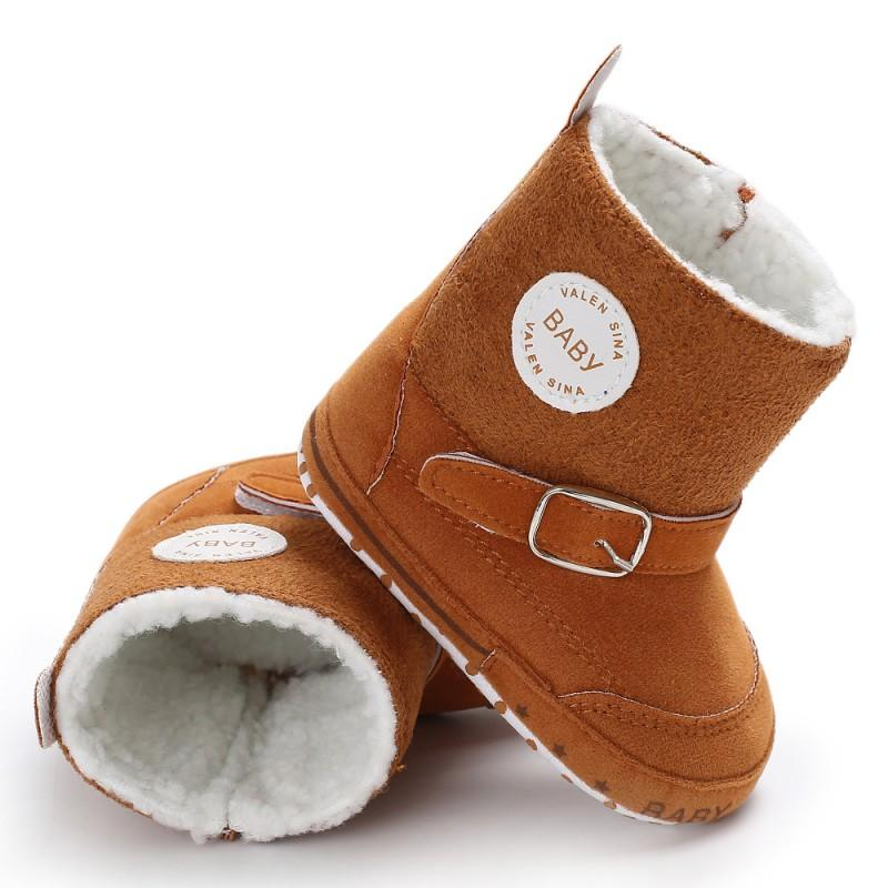 f9271edacf69 Newborn Baby Winter Boots Infant Toddler Girls Boys Snowfield Shoes Crib  Kids Super Keep Warm Zipper SPORTS Styles Booties Girl Boots Size 5 Knee  Boots For ...