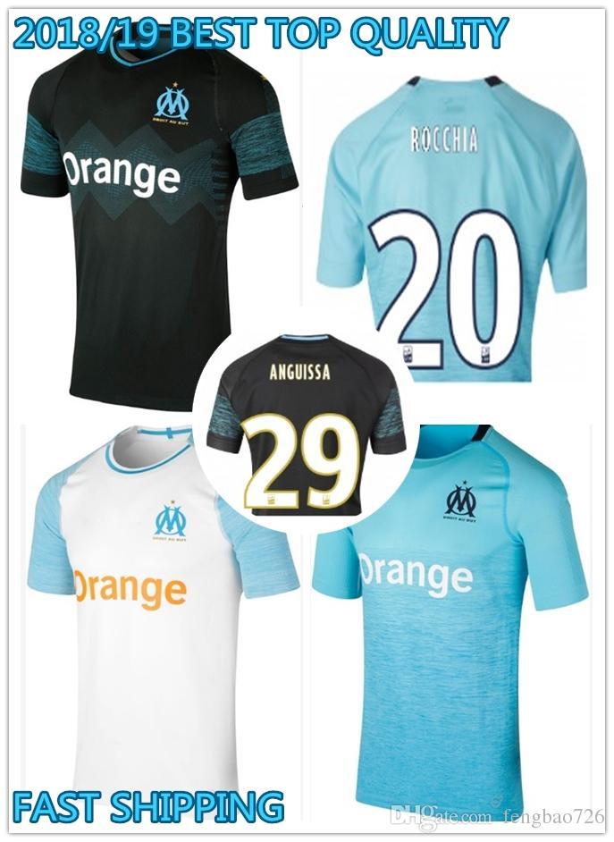 Maillot Domicile Olympique de Marseille Jordan AMAVI