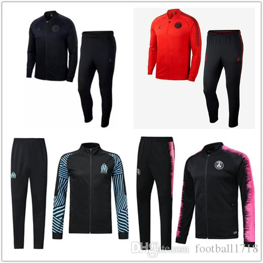 9aae90225bd 2018 2019 Paris Jordam Jacket Suit Champions League Jacket 18 19 PSG ...