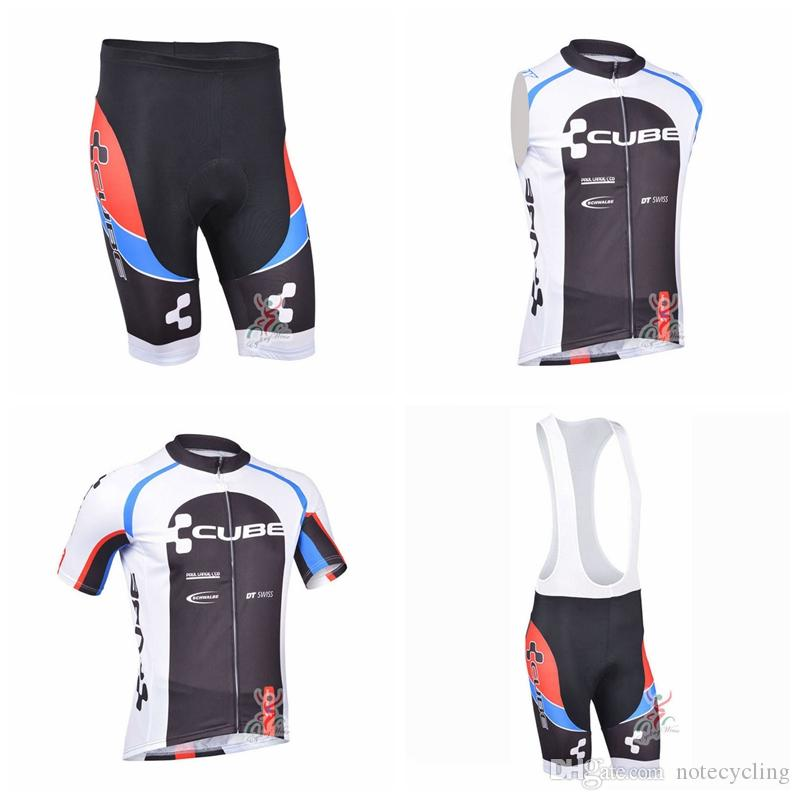 6138a3743 CUBE Cycling Short Sleeves Jersey Bib Shorts Sleeveless Vest Sets Mountain Bike  Clothing Maillot Ropa Ciclismo Bike Shirt A41320 Cycling Apparel Mountain  ...
