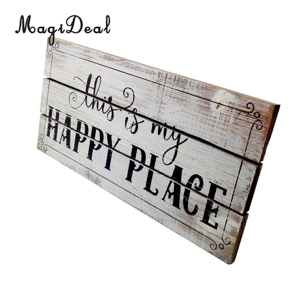 2019 magideal vintage wooden plaque shabby chic signs home decoration wooden gift wall door hanging decorative signs board from periwinkle 25 96 dhgate