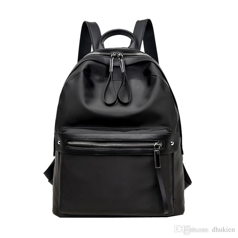 350f99d7976e Backpack Women 2018 New Korean Style Women Backpacks For School Casual Waterproof  Nylon Student School Bags Travel Backpack Cute Backpacks From Dhukien
