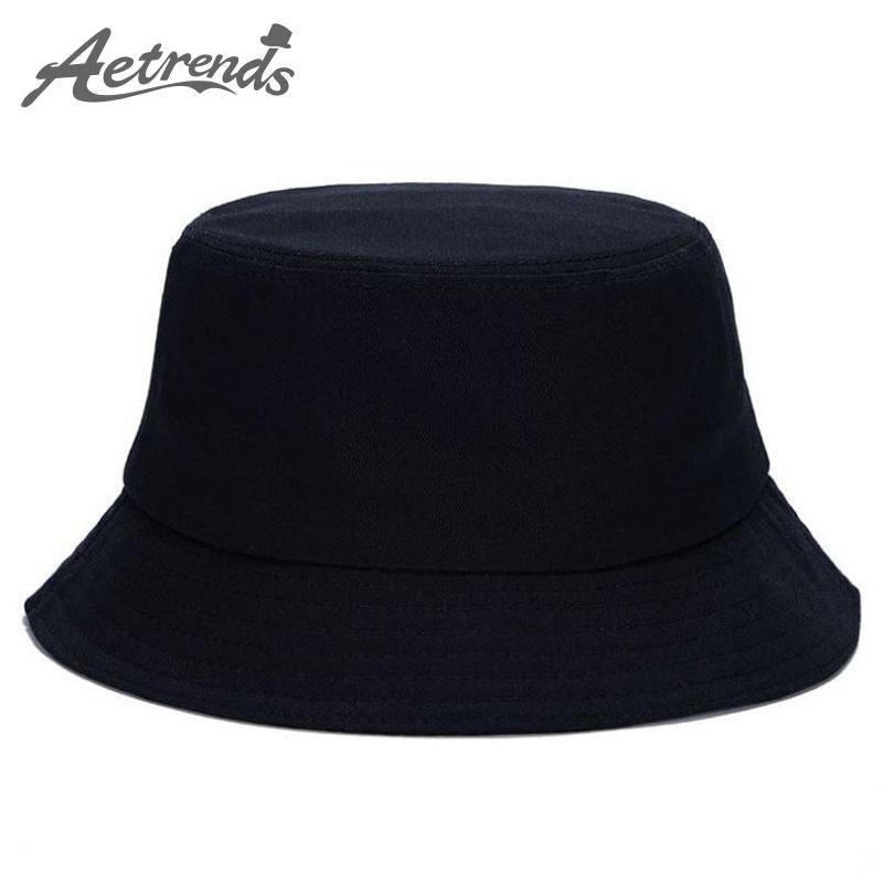 2018 !! Solid Color Bucket Hats for Men Panama Women Hat Z-1570 ... d3937bad266