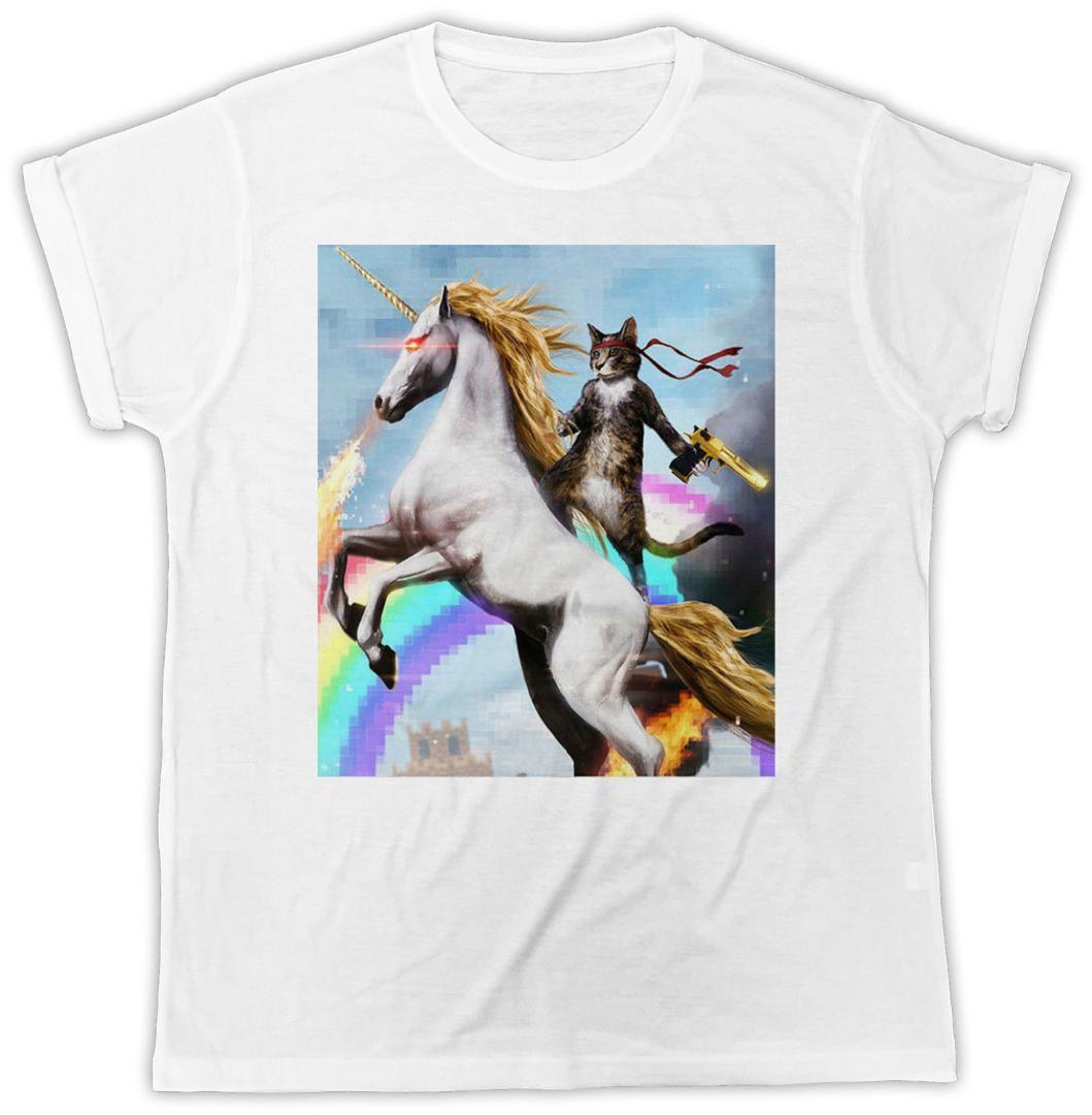 Grosshandel Cool Lustige Cat Einhorn Gewehr Pferd Geburtstag Geschenk