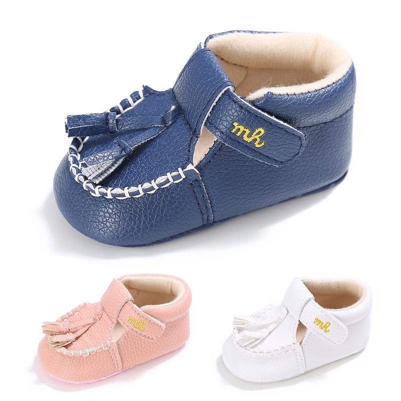 Baby Shoes Friendly Adorable Mermaid Baby Girl Moccasins Shoes Soft Sole Baby Leather Shoes Kids Shoes Newborn Baby Shoes For Girls Mother & Kids