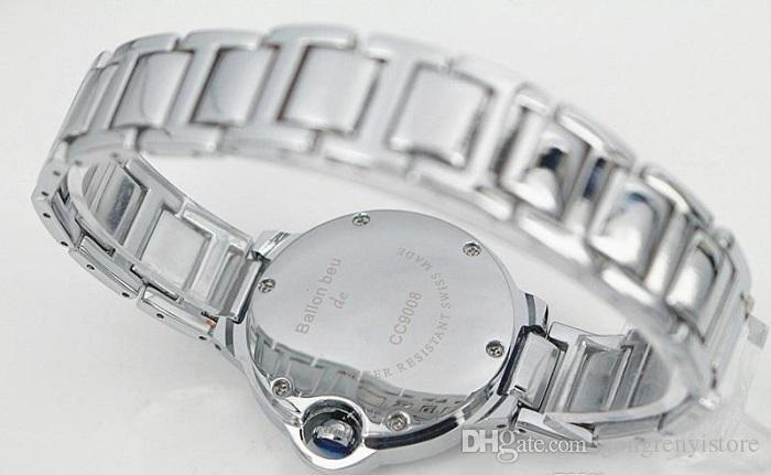 Súper Gif Marca Moda Reloj de Oro Elegante de Acero Amantes de las mujeres Hombres Reloj Clásico Mecánico Auto Viento Vestido de Pulsera Reloj Esqueleto Regalo