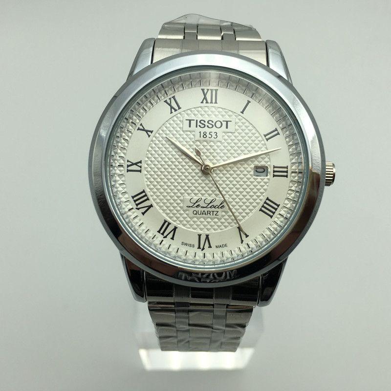 4b315f7d76e Compre Top Relógio De Marca De Luxo Logo Relógios Masculinos Relógio De  Quartzo Impermeável Moda Aço Inoxidável Relógio De Pulso Esporte Masculino  Montre ...